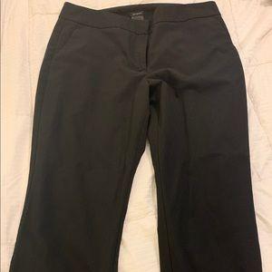 Ann Taylor curvy black dress pants Size 12